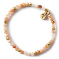 NEW: Lenny and Eva Rainbow Agate Gemstone Bracelet, 4mm