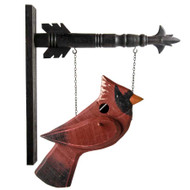 Red Cardinal Birdhouse Arrow Replacement ( 1 Sided)(arrows sold separately)