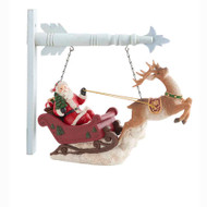 Santa Riding Sleigh With Deer Arrow Replacement (arrows sold separately)