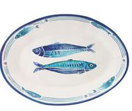"""Le Cadeaux Santorini Oval Platter 16"""""""