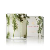 Frasier Fir Poured Candle, Pine Needle Design 6.5 oz