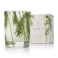 Frasier Fir Votive Candle Pine Needle design 2oz