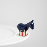 Nora Fleming Democratic Donkey Mini-