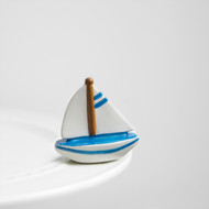 Nora Fleming Sailboat Mini, sail me away