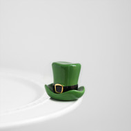 Nora Fleming Leprechaun Hat Mini, spot o' irish