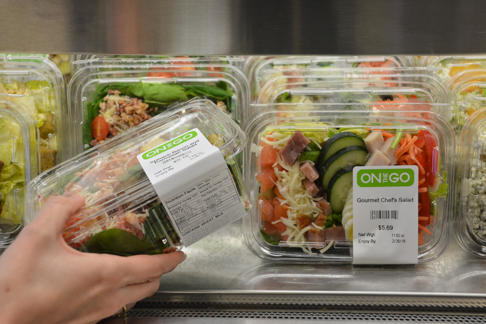It's just a photo of Stupendous Grab and Go Labels