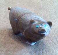 Zuni Pig Fetish Delvin Leekya ZPFDL369