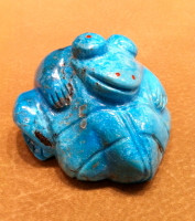 Zuni Frog Fetish Pete & Dinah Gasper SOLD