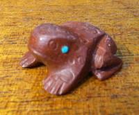 Zuni Frog Fetish Michael Coble SOLD
