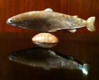 Zuni Fish Fetish Lloyd Tsalabutie ZFFLT5