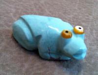 Zuni Frog Fetish Bernard Homer ZFFBH27
