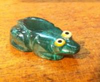 Zuni Frog Fetish Bernard Homer SOLD