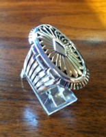 RINGS NAVAJO SILVER & GOLD Howard Nelson RNSGHN3 4388