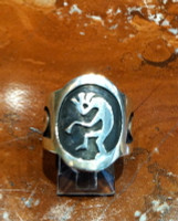 RINGS HOPI SILVER KOKOPELLI Dawn Lucus