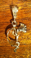 PENDANTS NAVAJO 14KT GOLD KOKOPELLI