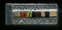 Navajo Multi-Inlay Jasper Onyx Tiger Eye Money Clip SOLD
