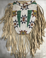 Native American Indian Sioux Style Beaded Medicine Bag_2
