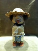 Kachina Yellow Clown Chester Poleyestewa