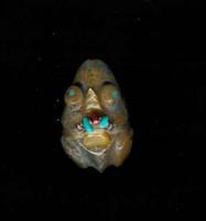 Zuni Frog Fetish Dinah Gaspar F81