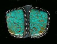 EARRINGS*NAVAJO*SILVER*TURQUOISE*Jeanette Dale SOLD