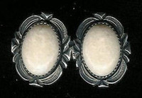 EARRINGS NAVAJO SILVER JEANETTE DALE SOLD