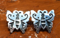 EARRINGS HOPI SILVER BUTTERFLY Dawn Lucus SOLD