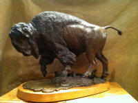 "BRONZE Doug Van How'd ""Prairie Spring"" Maquette SOLD"