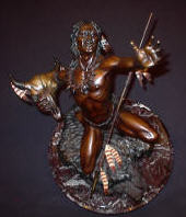 "BRONZE Joseph Krausz ""Vision Of Plenty"""