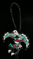 BOLO TIES*ZUNI INLAY*EAGLE DANCER*J. Lucio