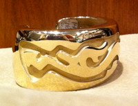 BRACELETS HOPI 14KT GOLD AVANYU Charles Supplee SOLD