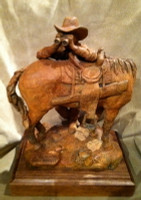 "Bronze Jack Muir ""Scopin' The Slope""_1 SOLD"