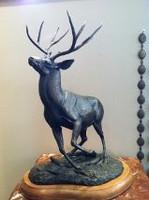 "BRONZE Gerald Balciar ""World Record Mule Deer"""