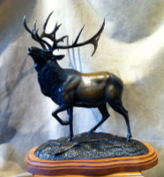 "BRONZE Gerald Balciar ""World Record Elk"""