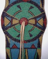 Native American Indian Style Beaded Blanket Strip