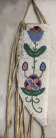 Native Americn Indian Nez Perce Style Beaded Knife Sheath