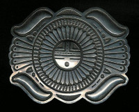 BELT BUCKLE NAVAJO SILVER Emerson SOLD
