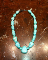 BRUCE ECKHARDT SLEEPING BEAUTY TURQUOISE NECKLACE