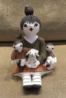 STORYTELLER ACOMA DOGS BIRD LADYBUG CHILDREN MOTHER JUDY LEWIS_2