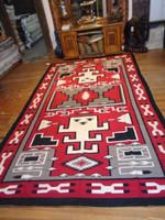 Navajo Indian Rug Red Ganado Pawn 1950-60's