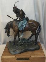 "Bronze ""Piegan Tracker"" Jack Muir"