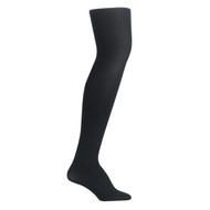 Bearfoot Women's PK1 70D Nylon Opaque Tights with Cotton Gusset - Black