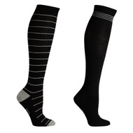 Sock Cafe Women's PK2 Fine Knit Fashion Knee High