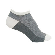 Sock Cafe Women's PK1 Contrast Rib Low Cut