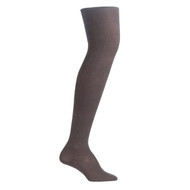 Bearfoot Girl's PK1 Cotton Rich Opaque Winter Weight Tights with Cotton Gusset - Chocolate