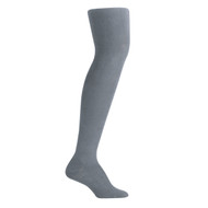 Bearfoot Women's PK1 Cotton Rich Opaque Winter Weight Tights with Cotton Gusset - School Grey