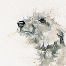 Hand embellished artwork by Kay Johnd