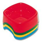 Square Plastic Dog Bowl
