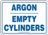 Argon Empty Cylinders