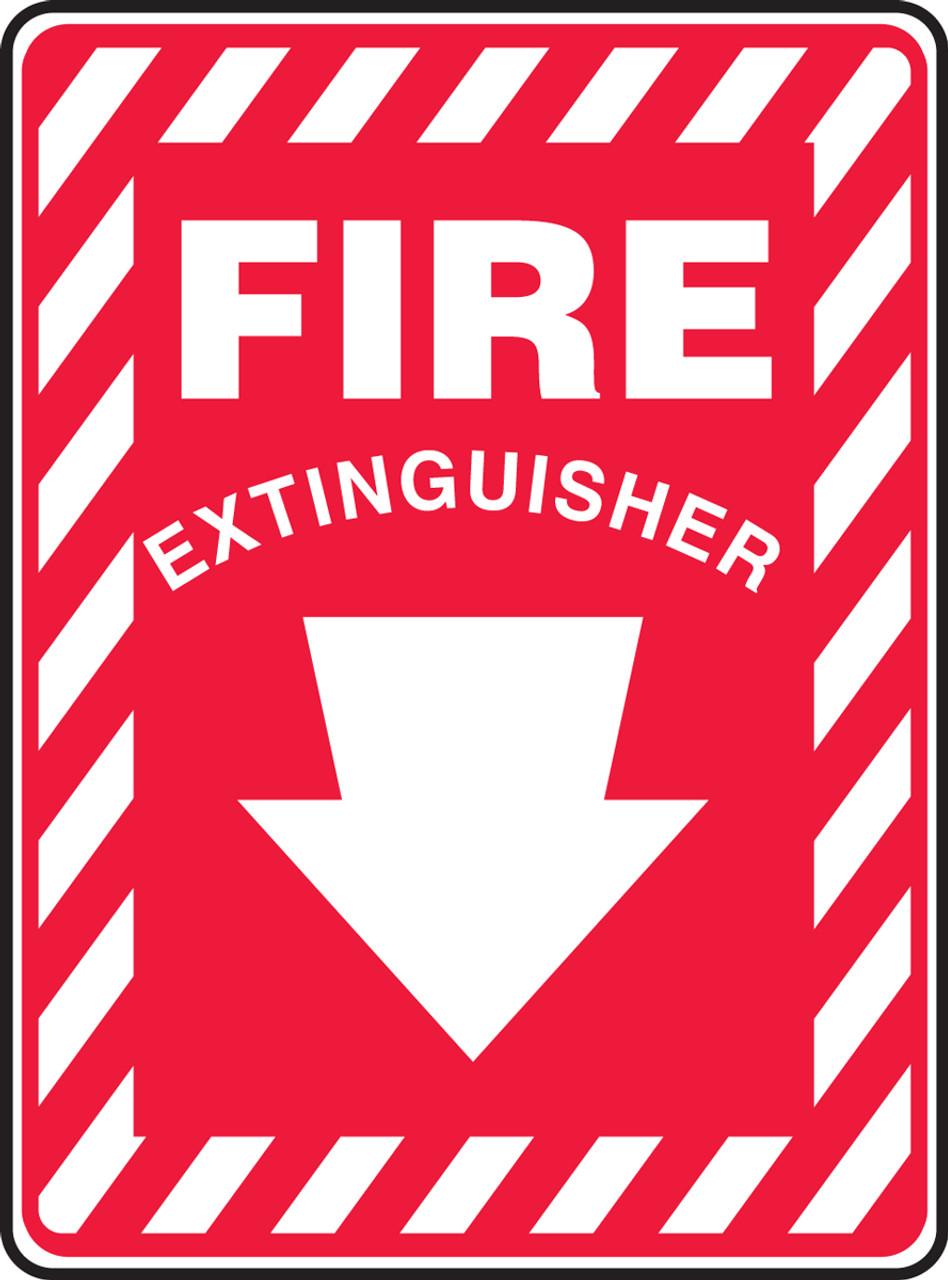 Fire Extinguisher Sign MFXG22