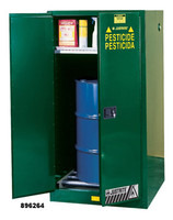 Justrite Pesticide Drum Storage 1-55 gallons